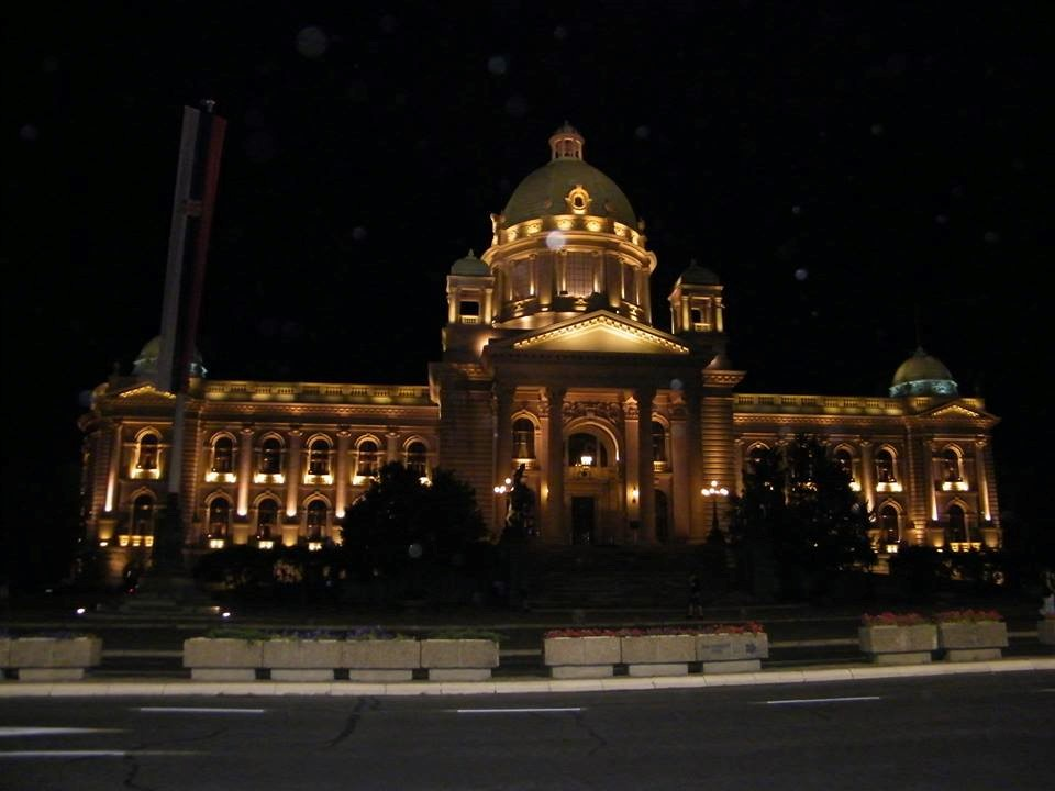 בית הפרלמנט בלילה