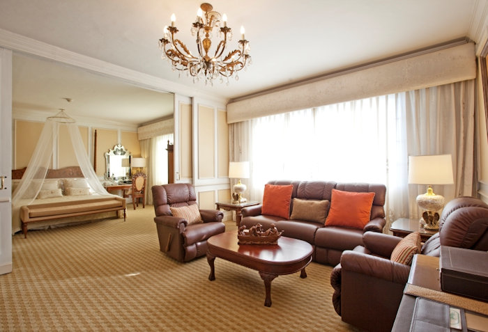 הסוויטה של מקארתור במלון מנילה