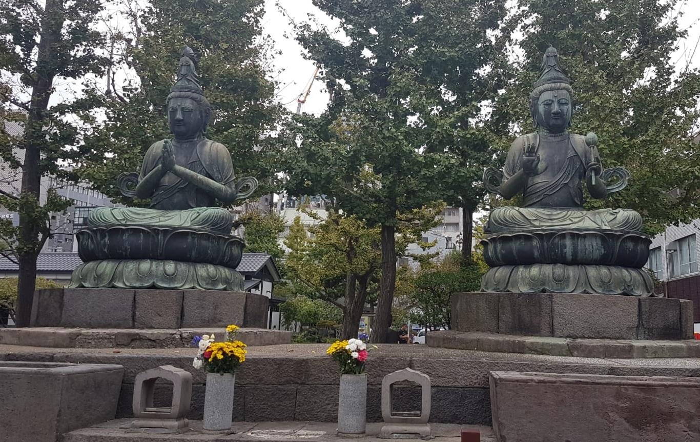 שתי בודהיסטוות באסקוסה