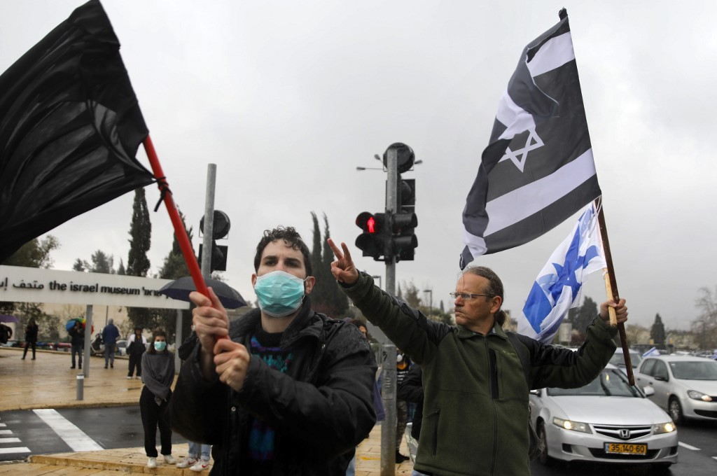 הפגנות ומחאה: צבעים ותמונות - בנצי גורן