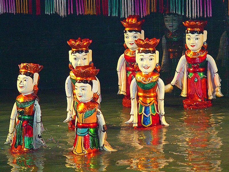 וייטנאם: תאטרון בובות על המים