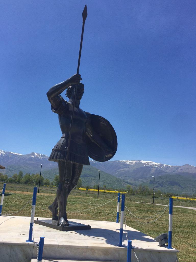 פסל אלכסנדר מוקדון