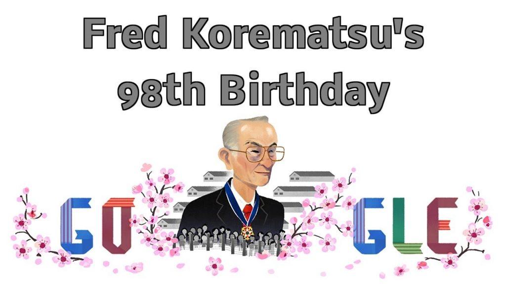 Fred Korematsu Doodle